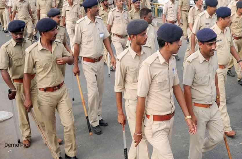 शराब के नशे में धुत युवक ने पुलिस से कहा- मंत्री का भांजा हूं, वर्दी उतरवा दूंगा, युवतियों ने भी खूब किया हंगामा