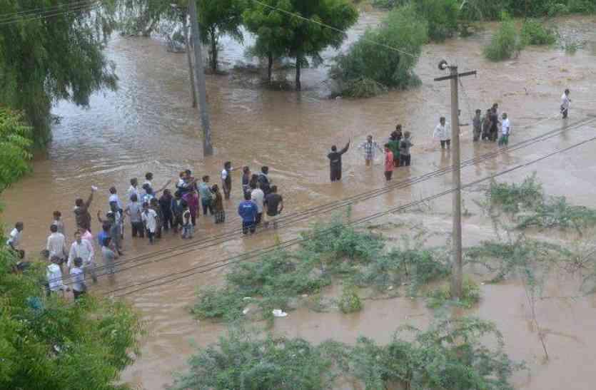 पूर्वी राजस्थान में अगले 48 घंटों में भारी बारिश की चेतावनी