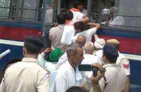 किसानों ने शुरू किया जेल भरो आंदोलन, कर्जमाफी को लेकर दी गिरफ्तारी