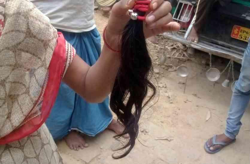मिर्जापुर में6 महिलाओं के कटे बाल, पुलिस ने की ऐसे अफवाहों से दूर रहने की अपील