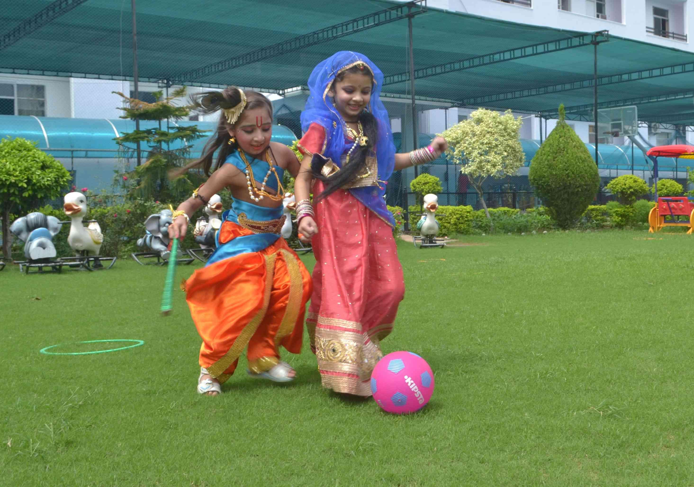Krishna Janmashtami Program in School