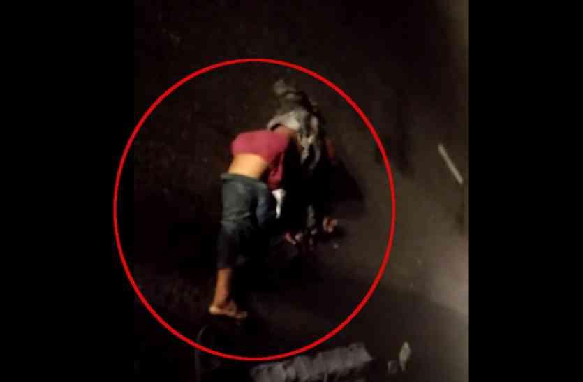मर गर्इ संवेदनाएं! दुर्घटना में युवक की मौत के बाद रात भर शव को कुचलते रहे वाहन