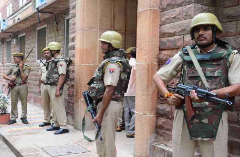 जोधपुर संभाग के सभी रेलवे स्टेशनों पर अलर्ट, हथियारबंद जवान कर रहे चौकसी