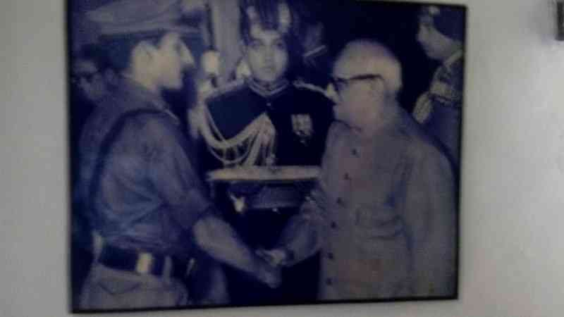 Retired Colonel Javagir Singh