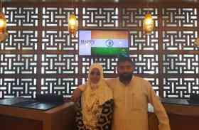 भारतीय हजियों ने सऊदी अरब में मनाई जश्न-ए-आजादी, देखें तस्वीरें