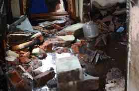 बंद घर में आग से सिलेण्डर फटा, कोई घायल नहीं