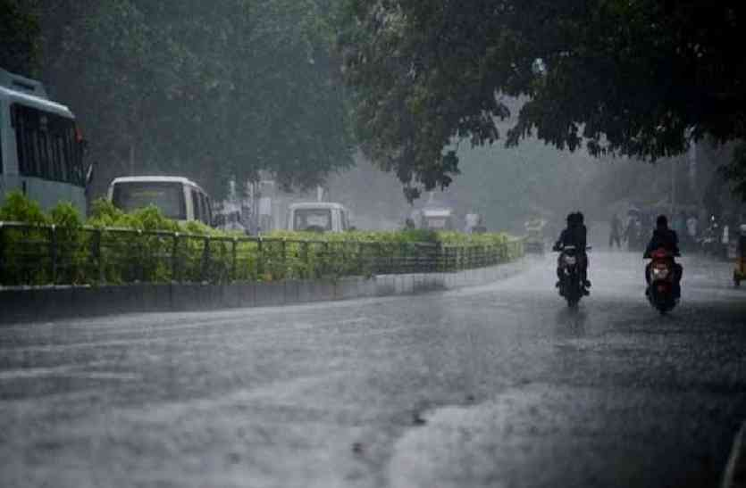 मानसून का दूसरा दौर सुस्त, कर्इ जिलों को झमाझम बारिश का इंतजार