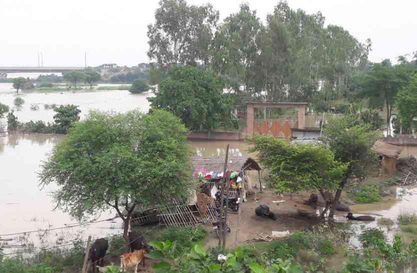 बड़ी खबर : अयोध्या के मंदिरों में घुसा बाढ़ का पानी संतों की जान खतरे में नहीं पहुंची है सरकारी मदद