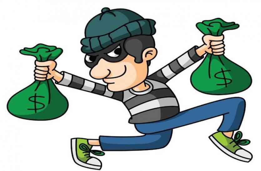 दिनदहाड़े लाखों की चोरी, एफएसएल टीम भी मौके पर पहुंची