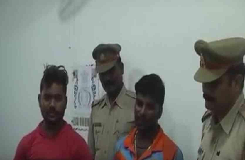 ग्रामीणों की हिम्मत से बची छात्र की जान, बदमाश गिरफ्तार