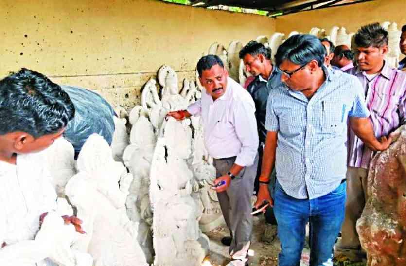खतरनाक केमिकल से बनीं गणेशजी की मूर्तियां जब्त, शरीर को पहुंचाती गंभीर नुकसान