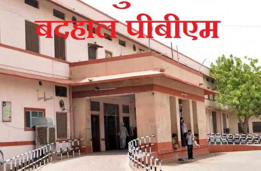 गोरखपुर से भी बदहाल पीबीएम : पांच की जगह पन्द्रह लाख में आपूर्ति, फिर भी काम नहीं आ रहे वेंटीलेटर
