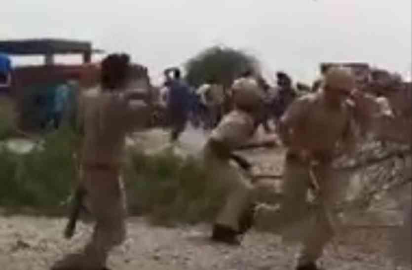 कन्नौज में बिजली कटौती को लेकर ग्रामीणों और पुलिस के बीच हुआ घमासान