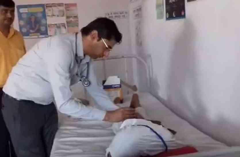 बिजनौर: पेट के कीड़े मारने की दवा खाने से 48 बच्चे बीमार, अस्पताल में भर्ती