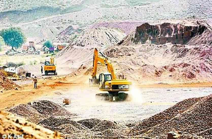 वैध की आड़ में अवैध खनन के लिए हरियाणा से अलवर आ रहा विस्फोटक