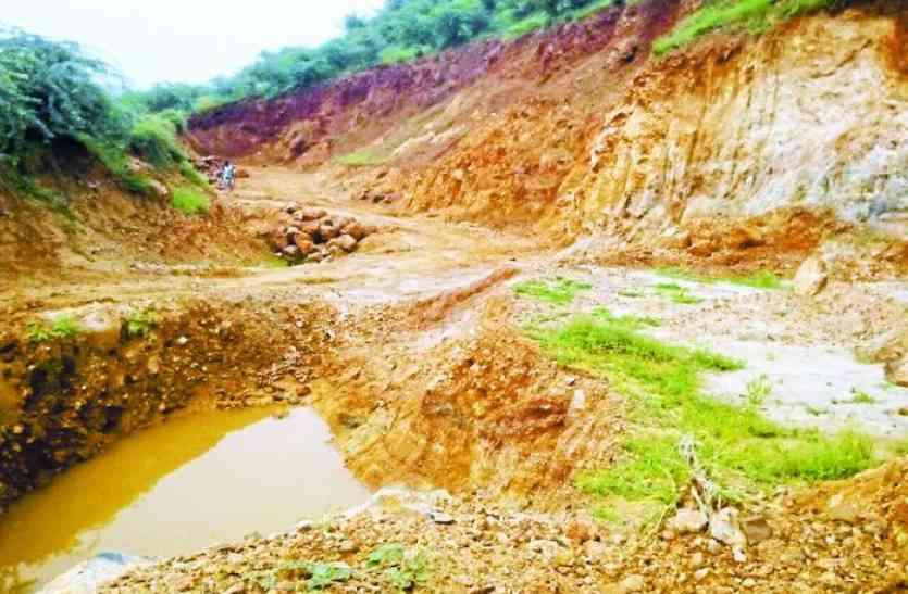 हरियाणा ने रोकी जिले में अवैध खनन पर कार्रवाई की चाल, सिकुड़ रहा पहाडि़यों का सीना