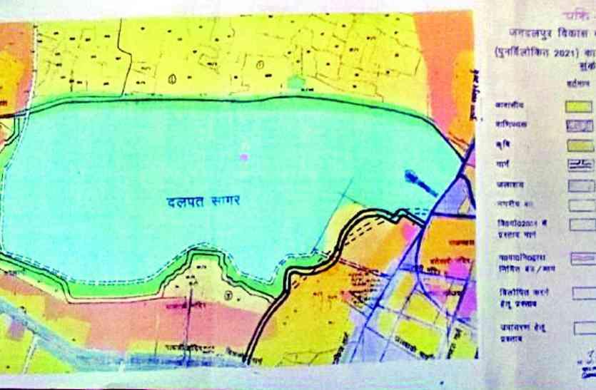 भु-माफियाओं ने की ऐसी कारस्तानी कि शहर का एकमात्र सागर तब्दिल हो गया छोटे से तालाब में