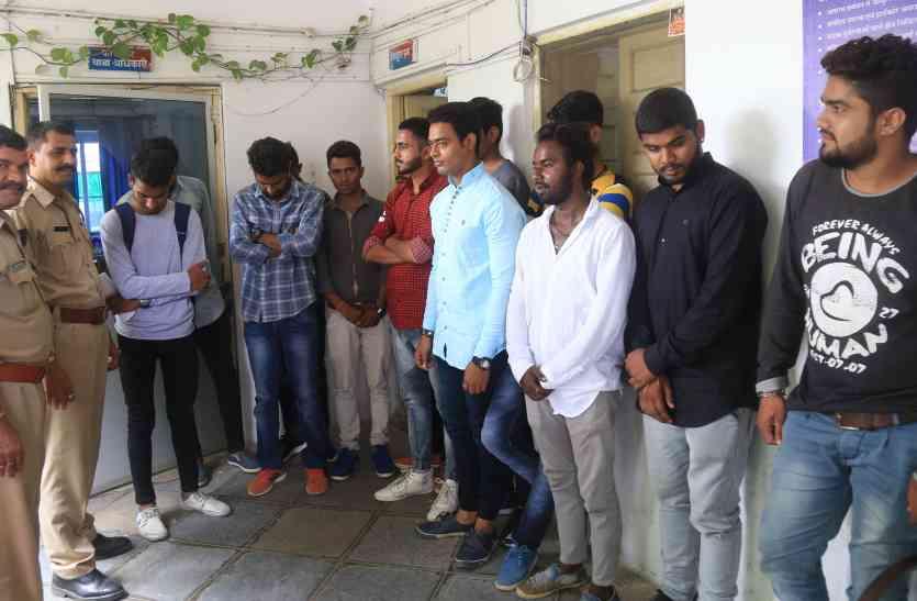 छात्रसंघ चुनाव: महंगी पड़ी चुनावी मदद, पुलिस ने पहुंचा दिया हवालात