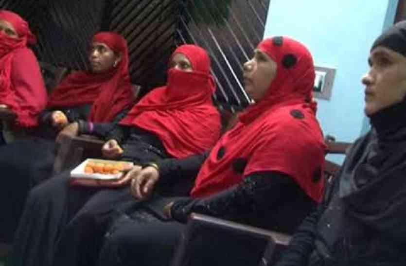 मुस्लिम महिलाएं बोली-हमें आज मिली आजादी