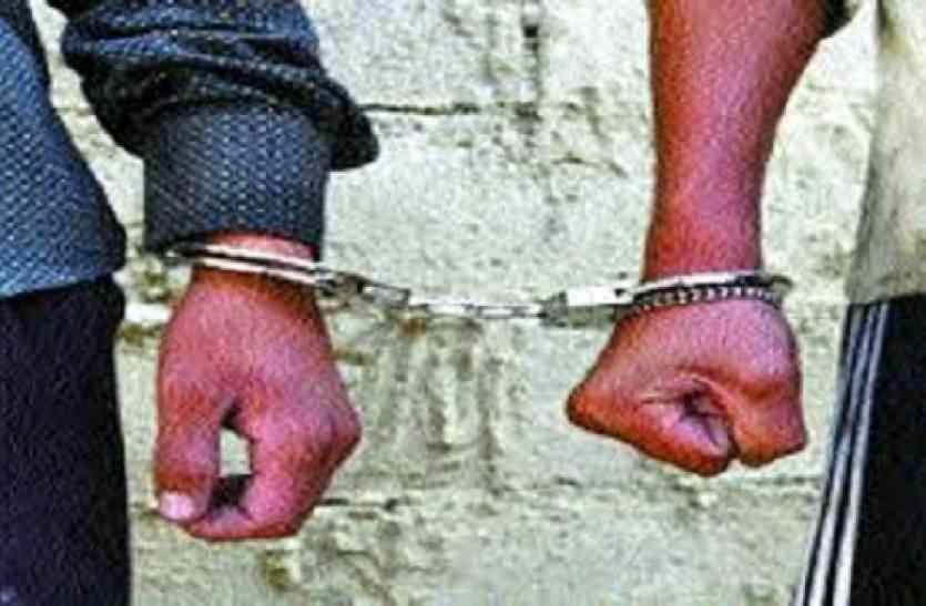 चंदौली में पकड़ा गया बड़ा ईनामी अपराधी अमित कुमार यूपी के साथ बिहार में भी है वांछित