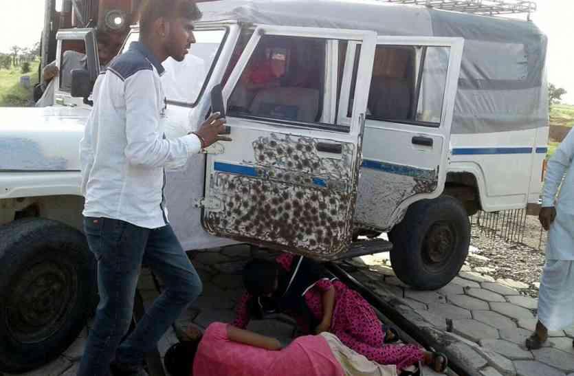 Jaisalmer Video - रामदेवरा मेले के दौरान क्षेत्र में तीन हादसे, एक की मौत, सात घायल