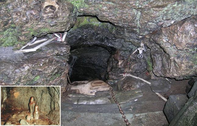 Patal Bhuveshwar Cave Ganesh