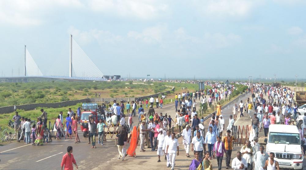 Hanging Bridge Inauguration by PM Modi