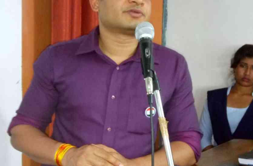 महिलाओं एवं छात्राओं को एसपी गौरव तिवारी ने दिए टिप्स