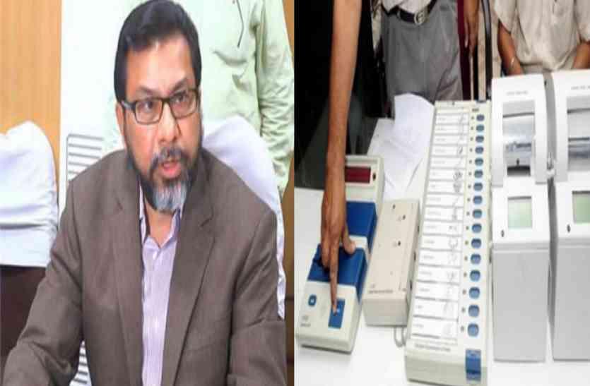 ईवीएम मशीनों की देखरेख के लिए राजस्थान के 30 जिलों में बनेंगे नए वेयरहाऊस- मुख्य निर्वाचन अधिकारी
