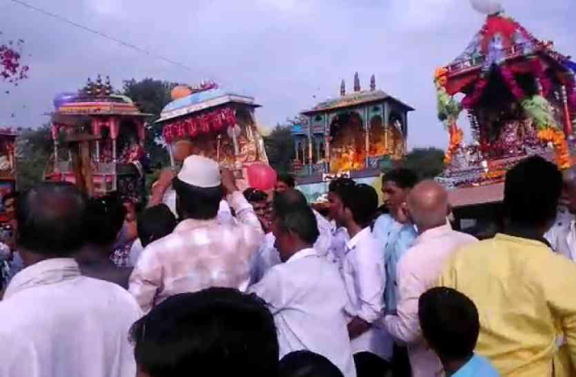 राजस्थानः साकार हुर्इ गंगा-जमुनी तहजीब, मुस्लिम धर्मावलंबियों ने पेश की साम्प्रदायिक सौहार्द की मिसाल