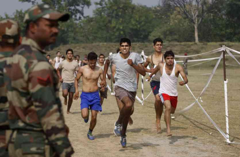 सैनिक भर्ती रैली 2017, भारतीय सेना मुख्यालय सिहाेर,मध्यप्रदेश में 05 अक्टूबर  से 13 अक्टूबर 2017 तक भर्ती रैली