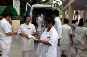 सहारनपुर में ऑन ड्यूटी नर्स अस्पताल से ले गई एम्बुलेंस और किया ये काम
