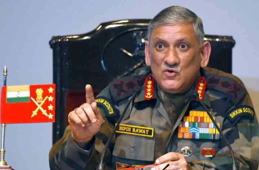 चीन ने कहा- दोनों देशों के रिश्तों के खिलाफ है भारतीय सेना प्रमुख का बयान