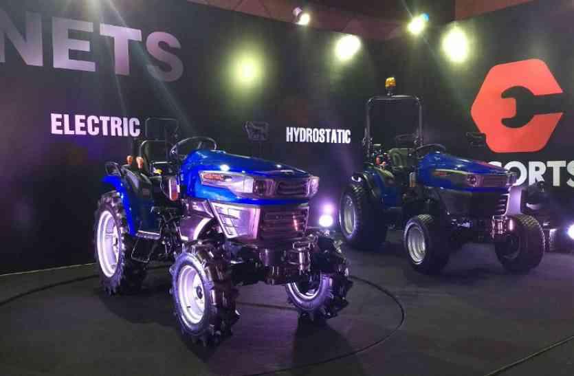 Escorts ने पेश किया की देश का पहला इलेक्ट्रिक ट्रैक्टर, जानें क्या है खास