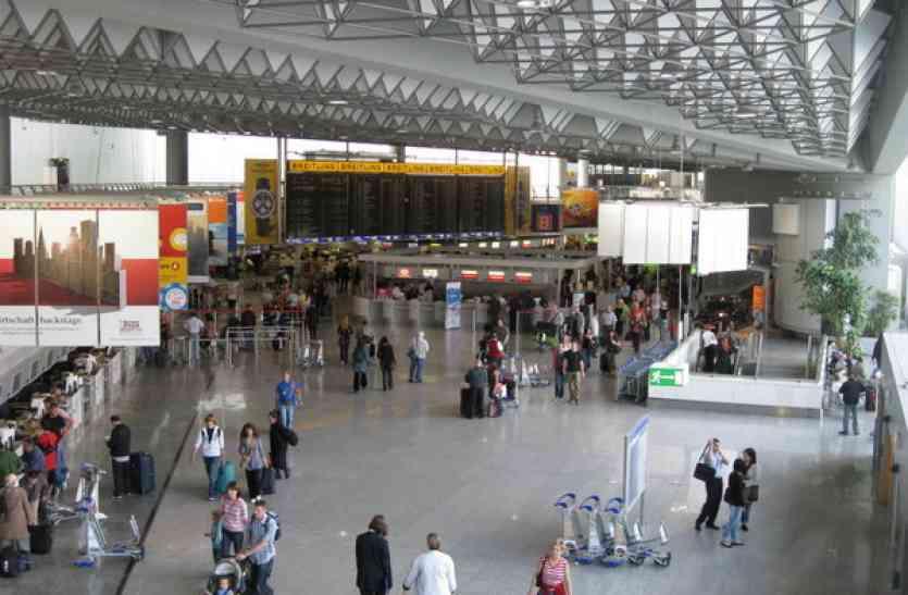 जर्मनी के फ्रैंकफर्ट एयरपोर्ट पर कैमिकल अटैक, घुटन से 6 लोग बेहोश