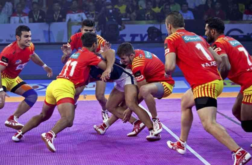 प्रो-कबड्डी लीग : हरियाणा को घर में मिली पहली हार, तेलुगू ने दी मात
