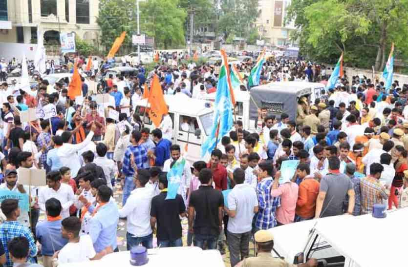 इलाहाबाद विश्वविद्यालय छात्र संघ चुनाव: थानों में अलर्ट, छात्र नेताओं पर हुई कार्रवाई