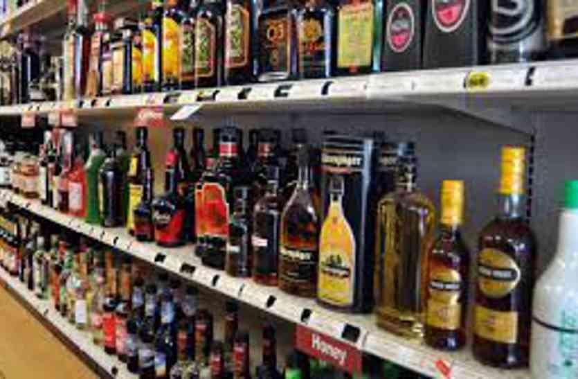 1536 पव्वे व 330 बोतल शराब जब्त
