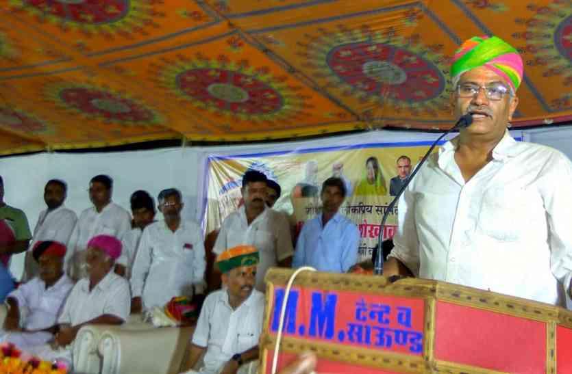 Video Jaisalmer- केन्द्रीय मंत्री बनने के बाद पोकरण पहुंचे सांसद का यह उद्बोधन हुआ वायरल