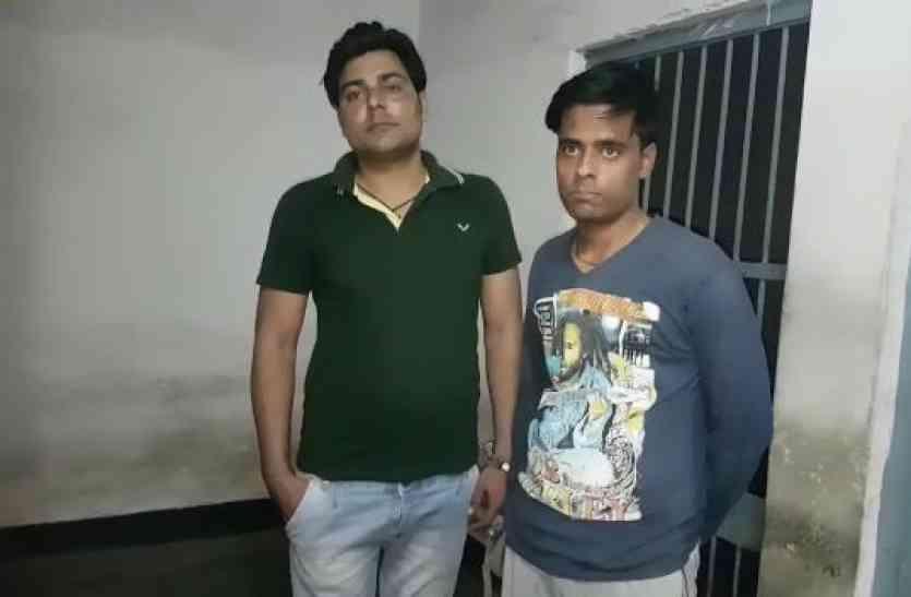मथुरा में बेखौफ बदमाश, गश्त कर रही पुलिस टीम पर फायरिंग