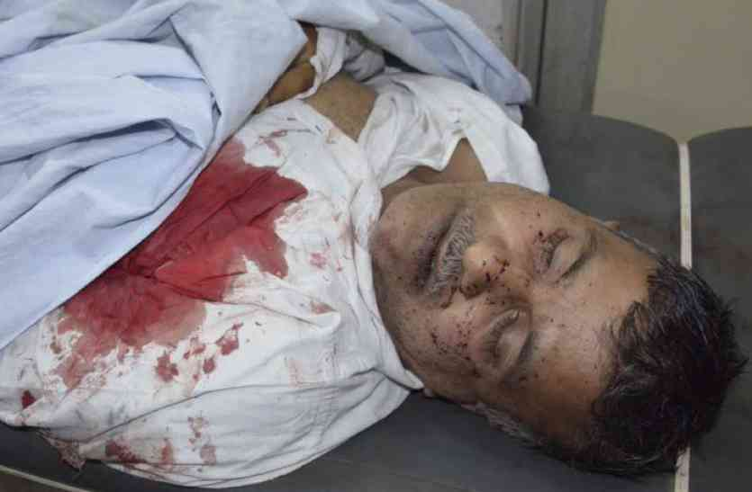 Image result for Ex-sarpanch shot dead in Bharatpur