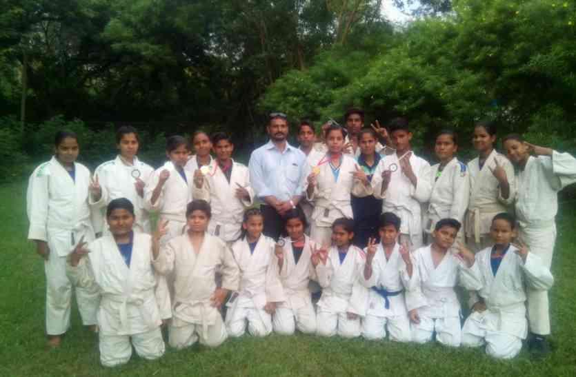 शिवपुरी ने जूडो में गोल्ड सहित 7 मेडल जीते
