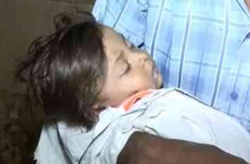 हैलट के डॉक्टरों ने नहीं दी ऑक्सीजन, पिता की गोद में बच्ची ने तोड़ा दम
