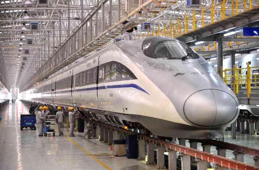 जापान के बाद चीन भी भारत में हाई स्पीड रेल प्रोजेक्ट से जुडऩे को राजी