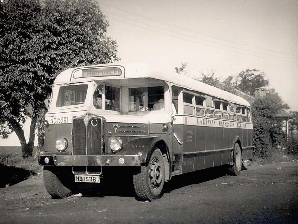 old school bus shocked people