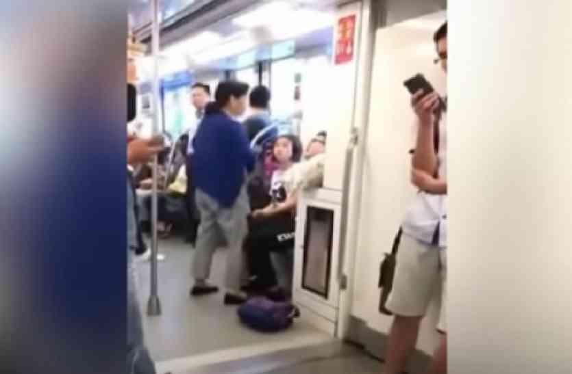 मेट्रो में लड़के ने सीट देने से किया इनकार, महिला ने ऐसे सिखाया सबक...यात्री रह गए भौंचक्के!