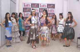 फैशन डिजाइन: वेस्ट मेटेरियल से बनाई बेस्ट ड्रेसेज...देखिए तस्वीरें