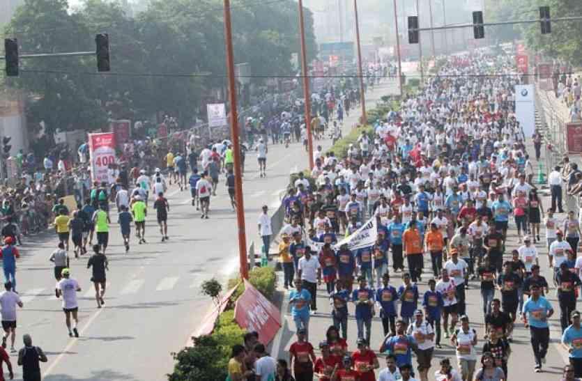 दिल्ली हाफ मैराथन का 10वां सीजन 19 नवंबर को, पंजीकरण शुरू