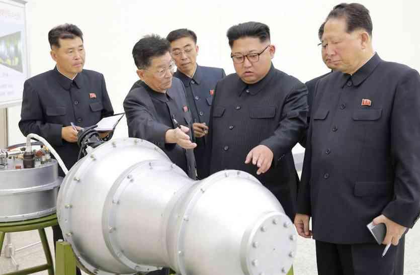 उत्तर कोरिया की धमकी, अमरीका में गिराया जा सकता है हाइड्रोजन बम