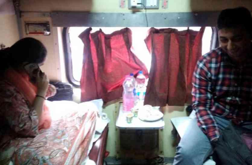 BJP MLA की पत्नी का इस ट्रेन से पर्स हुआ चोरी, IPhone सहित हीरे की अंगूठी-कंगन था शामिल